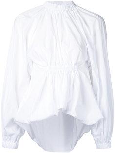 блузка со сборками на талии Ellery