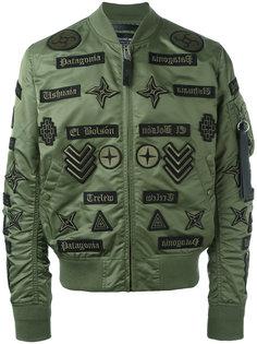 куртка бомбер Roldan Alpha Ma-1 Marcelo Burlon County Of Milan