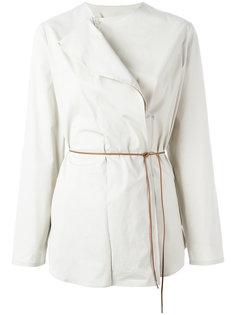 асимметричная блузка с поясом Fabiana Filippi