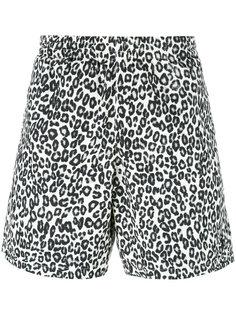шорты для плавания с принтом Alexander McQueen