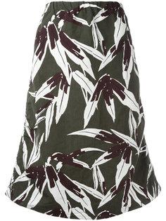 юбка с цветочным узором Marni