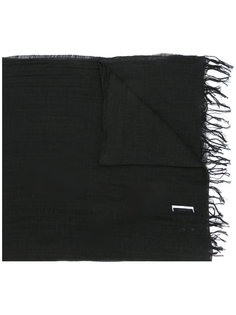 шарф с принтом Julius