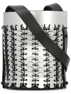 сумка на плечо с металлической отделкой Paco Rabanne