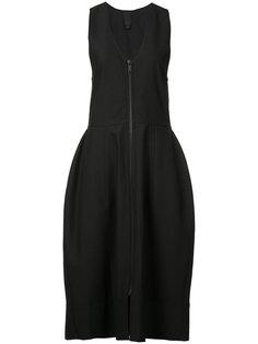платье с V-образным вырезом Vera Wang