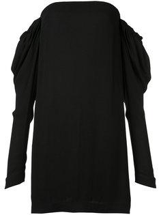 платье с заниженной линией плеч Vera Wang