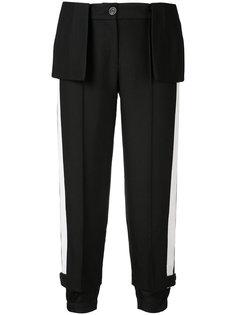 укороченные брюки с баской Vera Wang