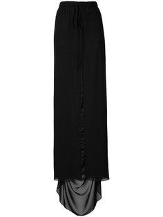 юбка с разрезом спереди Vera Wang