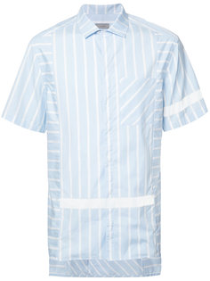 рубашка в вертикальную полоску Lanvin