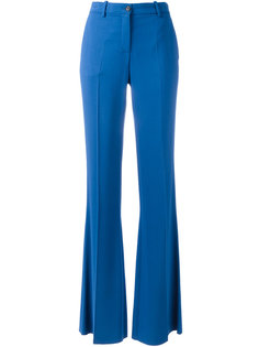 расклешенные брюки Roberto Cavalli