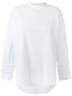 блузка с оборками Cédric Charlier