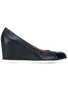 туфли на потайной платформе  Baldinini