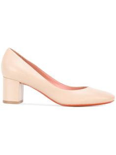 туфли-лодочки на наборном каблуке Baldinini