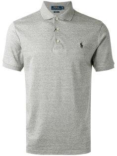 футболка-поло с вышитым логотипом Polo Ralph Lauren