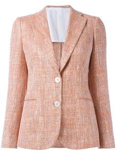 пиджак с застежкой на две пуговицы Kiton