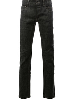 джинсы кроя слим Rick Owens DRKSHDW