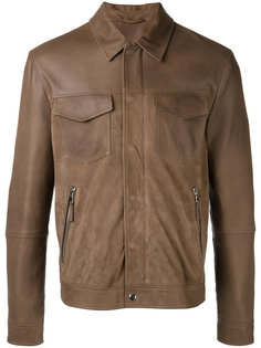 куртка с карманами на молнии Eleventy