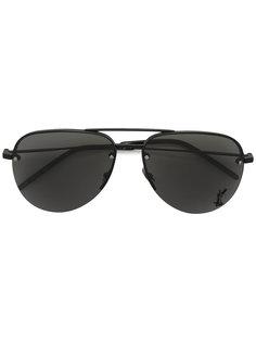 """солнцезащитные очки """"авиаторы"""" Monogram  Saint Laurent Eyewear"""