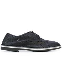 перфорированные туфли со шнуровкой  Baldinini