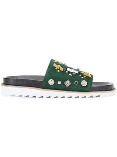 сандалии со шнуровкой Toga