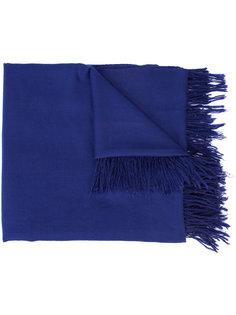 кашемировый шарф с бахромой The Elder Statesman