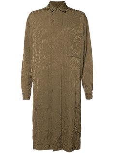 жаккардовое пальто с цветочным узором Uma Wang