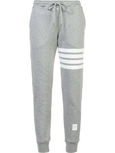 спортивные брюки с полосками Thom Browne
