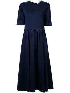 расклешенное платье Jil Sander