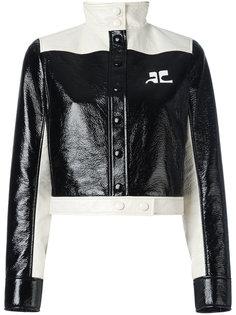 укороченная куртка Courrèges