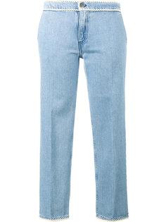 укороченные джинсы с контрастной окантовкой  Jour/Né