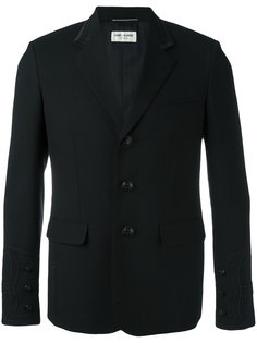 пиджак с вышивкой  Saint Laurent