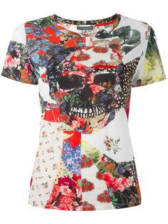 футболка с черепом Alexander McQueen