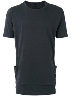 футболка с накладными карманами The Viridi-Anne
