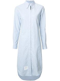 свободное платье-рубашка Thom Browne