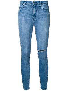 укороченные облегающие джинсы Cult Nobody Denim