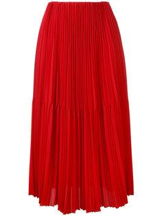 плиссированная юбка длины миди Astraet