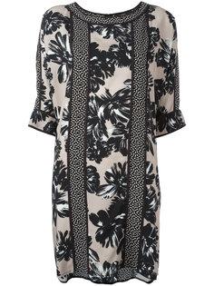 платье шифт с панельным дизайном Steffen Schraut