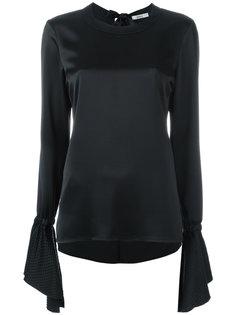 блузка с расклешенными рукавами Area