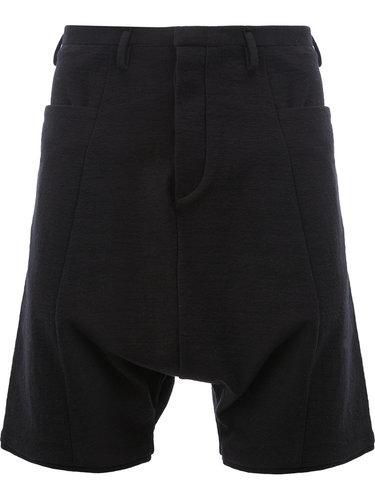 шорты с заниженной шаговой линией Label Under Construction