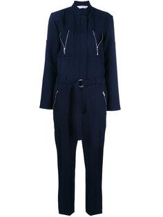 комбинезон с карманами на молнии Victoria Beckham
