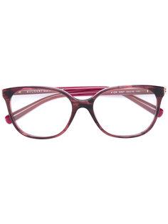очки в прямоугольной оправе Bulgari
