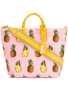 сумка-тоут с принтом ананасов Dolce & Gabbana