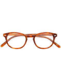 очки в круглой оправе Lesca