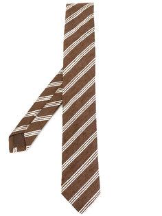 тканый полосатый галстук Eleventy