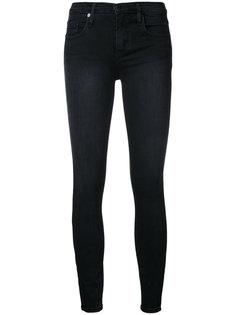 джинсы Geo Skinny Ankle с эффектом потертости Nobody Denim