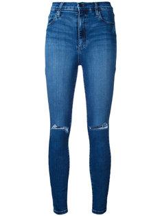 рваные облегающие укороченные джинсы Siren Nobody Denim