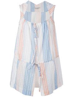 блузка в полоску на завязках Stella McCartney