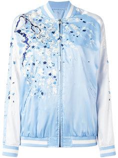 куртка-бомбер с вышивкой P.A.R.O.S.H.