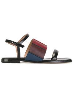 сандалии дизайна колор-блок Paul Smith