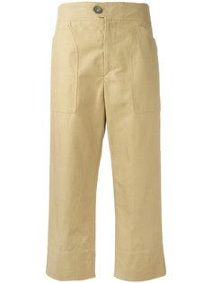 укороченные прямые брюки Isabel Marant