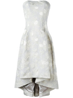 жаккардовое платье без бретелек Carine Gilson